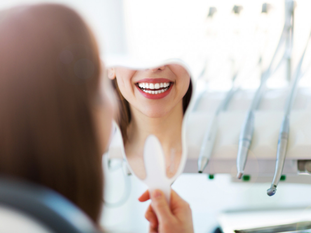 What are our teeth whitening options?